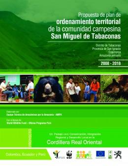 Propuesta de Plan de Ordenamiento Territorial de la Comunidad Campesina de San Miguel de Tabaconas