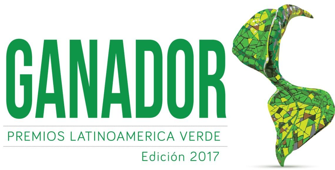 Ganador Premio Latinoamérica Verde 2017